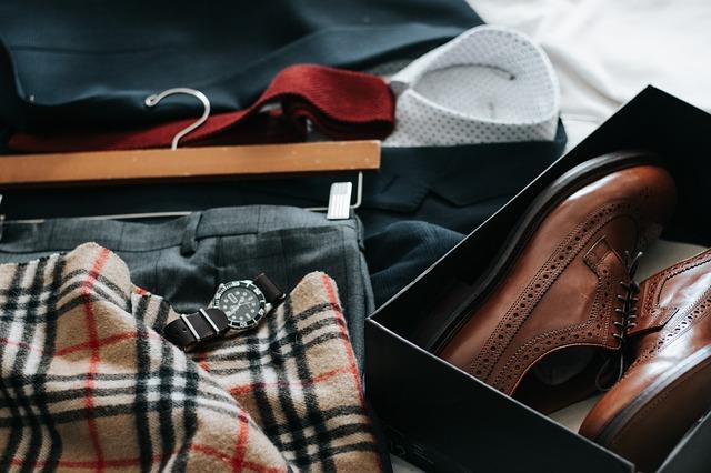 oblečení a boty muže