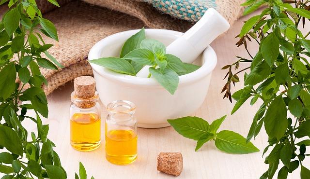 éterické oleje a bylinky